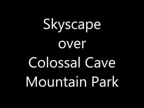 Skyscape over Colossal Cave Mountain Park