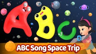 ABC Song Space Trip ㅣAlphabet song l