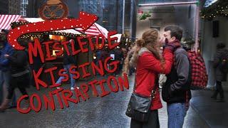Mistletoe Kissing Contraption