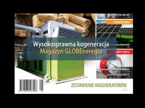 Wysokosprawna kogeneracja. GLOBEnergia - przegląd instalacji.