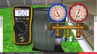 Residential AC Leak Troubleshooting Video