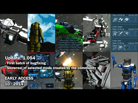 Space Engineers - Bugfixing #1, Mods compilation