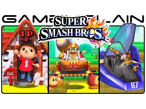 Smash Bros 3DS: All Battle Entrances & Intros (All 51 Characters!)