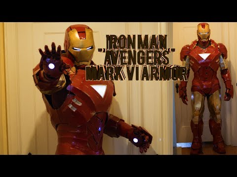 Iron Man Mark 6 Costume - Homemade Foam Avengers Armor (pepakura)
