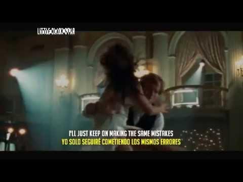 Ed Sheeran - Thinking Out Loud Official Video Lyrics ( Ingles - Español )