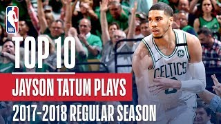 Jayson Tatum's Top 10 Plays of the 2017-2018 NBA Regular Season