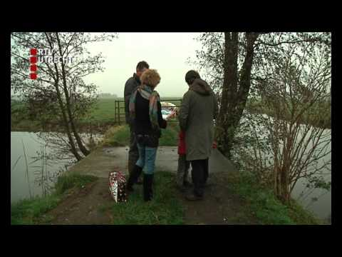 Actie tegen dammen in polder Kamerik