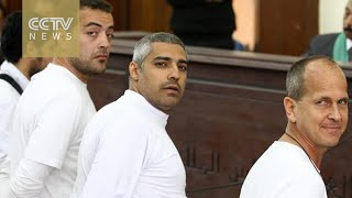 Egyptian court sentences Al-Jazeera journalists to three years in prison