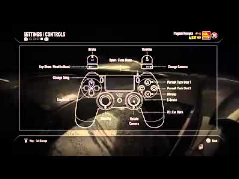 need for speed rivals ps4 controls youtube. Black Bedroom Furniture Sets. Home Design Ideas