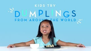 Kids Try Dumplings from Around the World | Kids Try | Cut