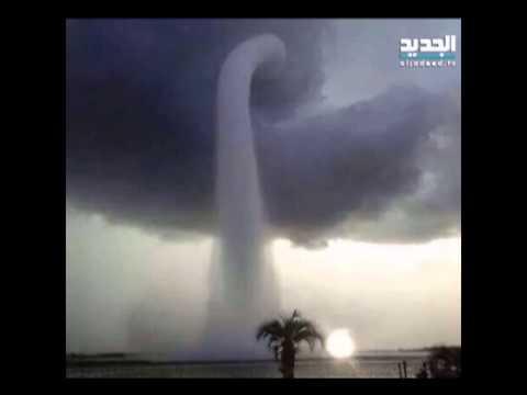 العاصفة زينة تضرب لبنان وبناه التحتيةَ وما فوقها – باسل العريضي ونوال بري