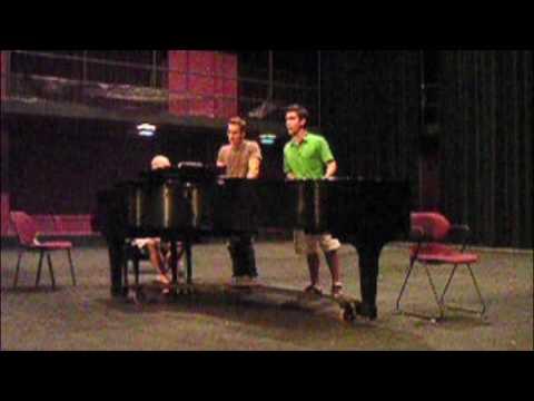 Patrick Wilson and George Psomas singing Lilys Eyes (impromptu performance)
