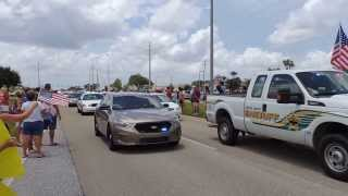Sgt. Michael Wilsons funeral procession