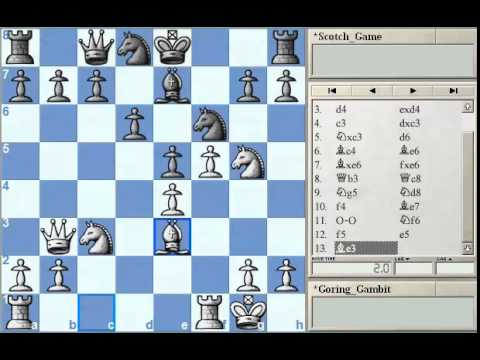 GM Alterman's Gambit Guide - Goring Gambit Part 3 at Chessclub.com