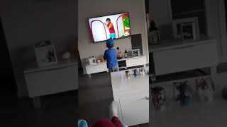 Mason watching ryans toy review