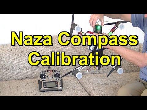 DJI Naza Compass Calibration/Dance and Adding Failsafe Switch
