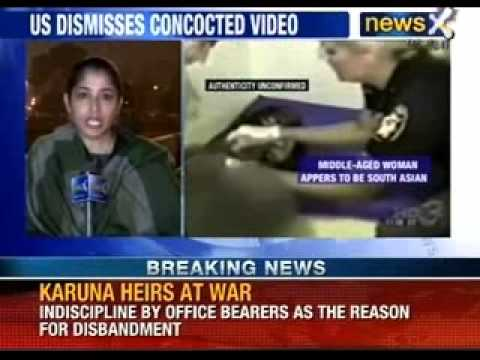 'fake' Devyani Khobragade Video? : United States Dismisses Concocted Video - Newsx video