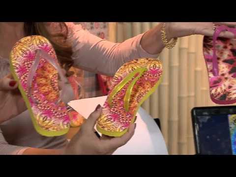 Vida Melhor - Artesanato: Fabricação de chinelos (Tenessee Sanchez)