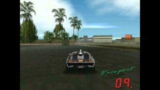 GTA:VICE CITY Back To The Future 0.2e Stunts 3 2/2