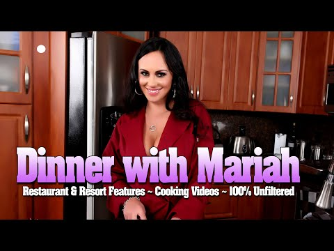 Welcome to Dinner with Mariah Milano! Adventurous Funny Unfiltered The Real Deal!