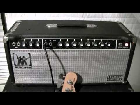 Musicman Bass Amp Musicman Hd130 Bass Sound Test