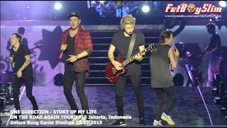 1D ONE DIRECTION - STORY OF MY LIFE live in Jakarta, Indonesia 2015