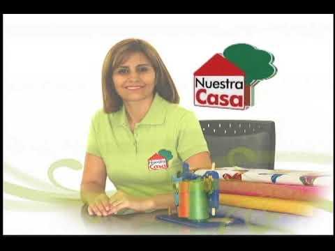 Sonia Franco.Programa Nuestra Casa. Elaboración de Sabanas 2/5
