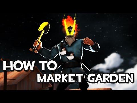 TF2 How To Market Garden in MVM