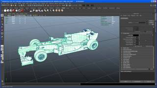 Maya 2011 Modeling Tutorial: the RB6 F1 car