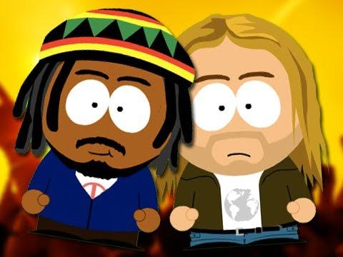 Bob Marley vs Kurt Cobain. Epic Fanmade Rap Battles of History #50