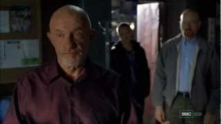 Breaking Bad season five episode three Mike scene with Walt and Jesse