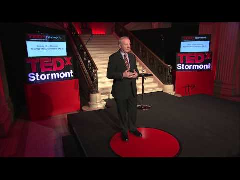Martin McGuinness MLA at TEDxStormont