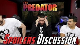 The Predator Spoilers Discussion