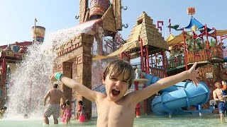 Hotel Water Playground Fun Slides