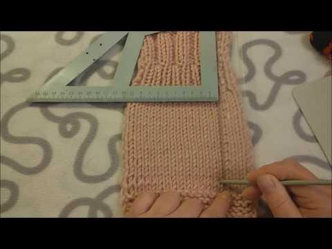 Учимся вязать ПРАВИЛЬНО. Расчёт вязаного полотна.
