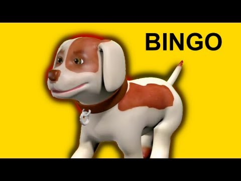 Muffin Songs - Bingo | nursery rhymes & children songs with lyrics