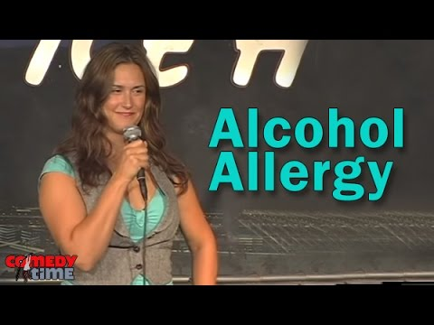 Stand Up Comedy By Danielle Stewart - Alcohol Allergy