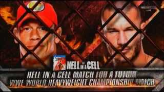 WWE HELL IN A CELL 2014 MATCH CARD (FULL)