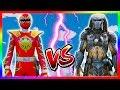 Siêu Nhân Khủng Long Sấm Sét Đại Chiến Quái Thú Không Gian | Dino Thunder vs The Predator |GTA5MODAZ thumbnail