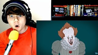 The Evolution Of Pennywise / IT (Animated) by Tell It Animated REACTION!!!