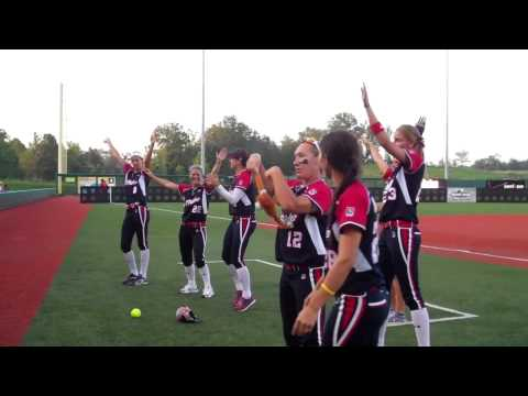 NPF USSSA Pride players dance to YMCA