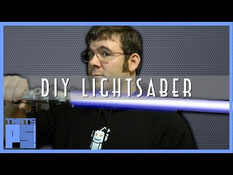Easy way to make a (replica) lightsaber