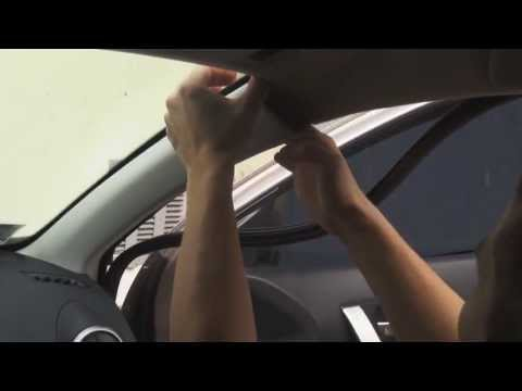 Видео как снять обшивку салона