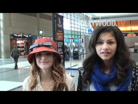 Bella Thorne and Zendaya Coleman head to Dubai