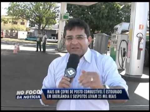 Criminosos explodem cofre de posto no Planalto e levam R$ 25 mil