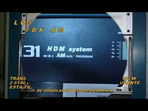 HAM RADIO AM TRANSMISSION,HIGH QUALITY MODULATION LU5FBX