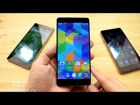 Распаковка Elephone P9000, сравнение с Redmi Note 3, Galaxy S7 edge, Xperia Z5 Premium (unboxing)
