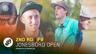 2017 Jonesboro Open | Round 2, Front 9 | Wysocki, Koling, Lizotte, McCray