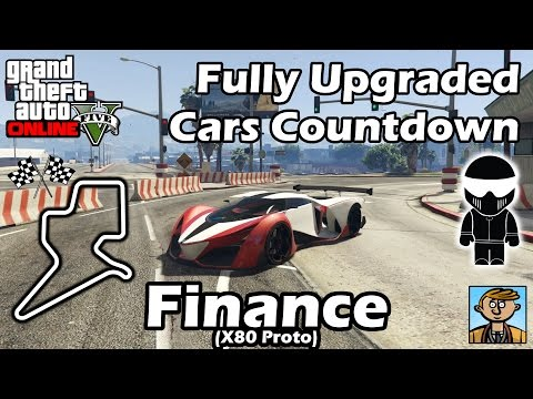 Fastest Finance DLC Vehicles (X80 Proto) - Best Fully Upgraded Cars In GTA Online