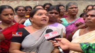 Garagaparru Village People Fire on SC-ST Commission Chairman karem sivaji